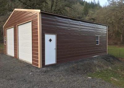 triple wide vertical roof