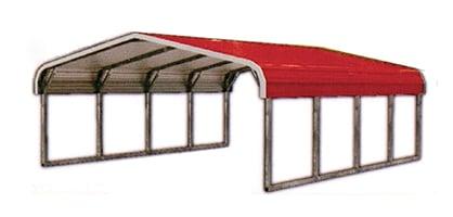 Metal Standard Carports | California All Steel