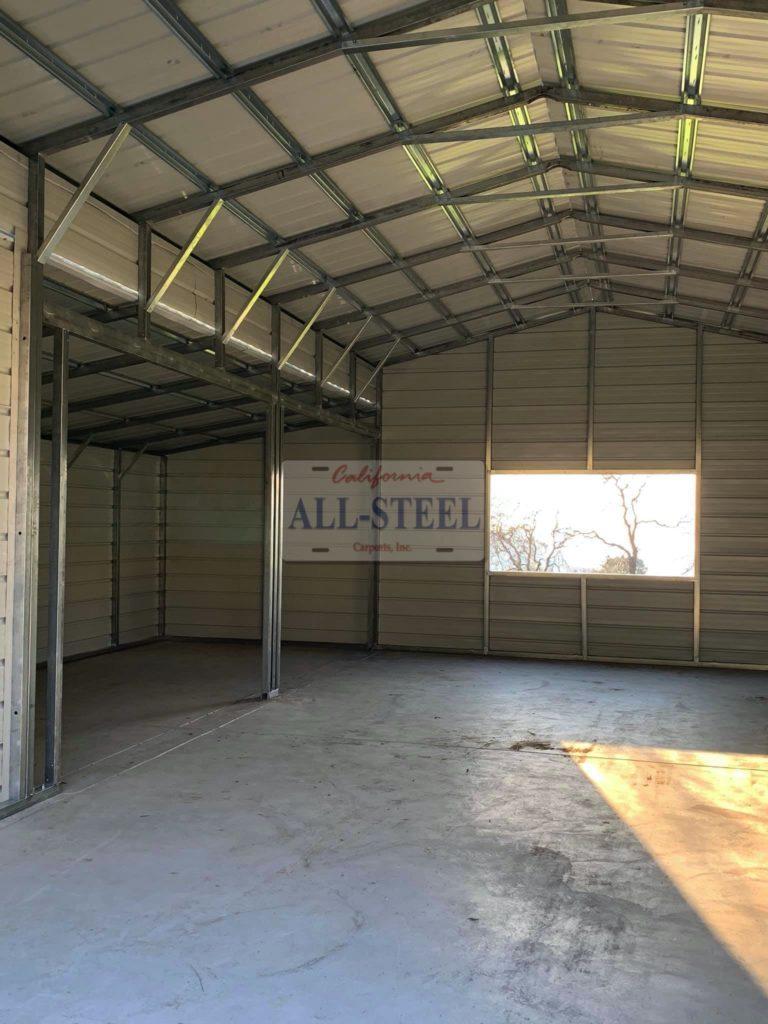 metal carport building