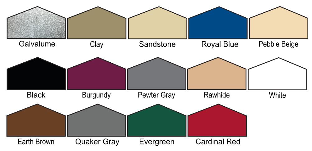 Metal Standard Carports California All Steel
